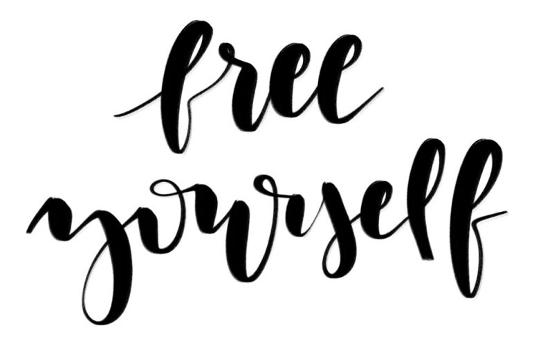 free yourself - by blushdust.com